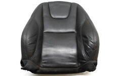 12 VOLVO S60 T5 FRONT LEFT UPPER SEAT CUSHION LEATHER BLACK 3101 OEM 12 13 14