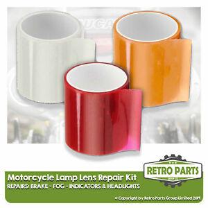 Brake Indicator Light Lens Repair Tape Kit For Can Am (BRP). Lamp MOT Pass