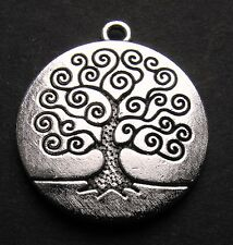 1967 50th birthday Lucky Sixpence Peace Money Tree Charm earring + free gift box