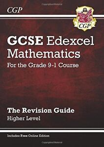 New GCSE Maths Edexcel Revision Guide: Higher - for the Grade 9-1 Course (wit.