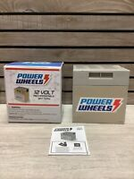 Power Wheels 74777 12V Rechargeable Battery New Open Box