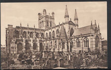 Cheshire Postcard - Chester Cathedral, South East View  DR327