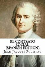 Contrato Social (Spanish Edition): By Rousseau, Jean-Jacques
