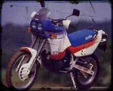Aprilia Tuareg 600 Wind 89 1 A4 Metal Sign Motorbike Vintage Aged