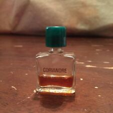 Vintage Coriandre Miniature Perfume Bottle by Jean Couturier