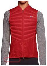 Nike AeroLoft 800 Down Packable Lightweight Running Vest Red Medium M 616240 687