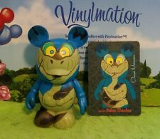 "Disney Vinylmation 3"" Park Set 1 Villains Kaa from Jungle Book with Card"