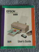 Epson Stylus Color 600 - User's Guide