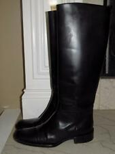 BURBERRY RIDING KNEE HIGH LEATHER BOOTS SZ 38 8