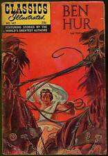 Lew Wallace / Classics Illustrated Ben Hur Fall 1968 Number 147