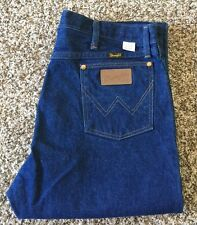 Vintage Wrangler Blue Jean Classic Straight Leg Size 34x34 Made in USA