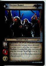 Lord Of The Rings CCG Card TTT 4.U24 Hillman Rabble