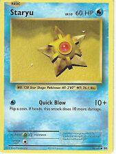 POKEMON XY EVOLUTIONS CARD - STARYU 30/108