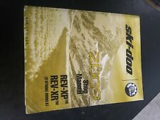 New Listing2009 Ski-Doo Snowmobile Quick Reference Manual 219100330 2 Stroke Models Ns433