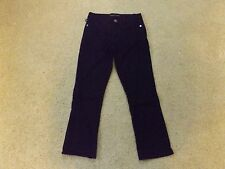 Woman's Black washed Jeans BY: Rock & Republic Size:8 Cropped style NWOT!
