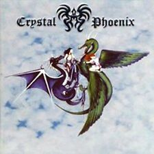 CRYSTAL PHOENIX: The legend of the two stonedragons; Black Widow BWR 063 LP Neu