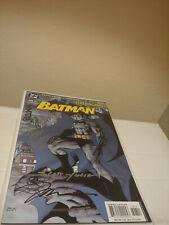 Signed Batman 608 Jim Lee Jeph Loeb Hush Second Print 2nd 2002 Part 1 Variant