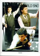 Signed Jimmy White Snooker Autograph Montage + Proof The Whirlwind