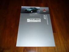 Mitsubishi ASX Prospekt 04/2010