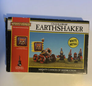 Citadel Miniatures WARHAMMER Chaos Dwarf EARTHSHAKER MIGHTY CANON… Not Complete