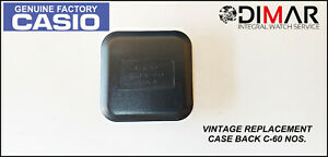 Replacement Vintage Cover/Case Back Casio C-60, NOS