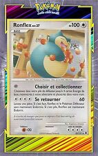 Ronflex - Platine 02: Rivaux Emergeants - 33/111 - Carte Pokemon Neuve Française