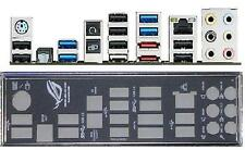 ATX pannello I/O Shield ASUS Crosshair V 5 Formula-Z #521 io NUOVO OVP Backplate NEW