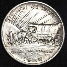 1926-S Oregon Trail Memorial Half Dollar CHOICE BU FREE SHIPPING E394 GCCG