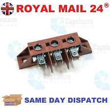 BLUE SEAL 014185 RED WIRE TERMINAL BLOCK 3 WAY OVEN GRIDDLE FRYER 026160