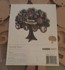 "Nwt KaiserCraft Mdf Family Tree Kit~ 11-1/2""x11-7/8"""