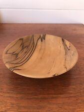 Vintage Malcolm Nash Australian Tasmanian Blackheart Sassafras Wooden Bowl