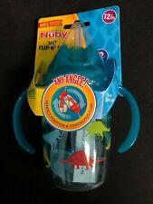 Nuby 360 Flip N' Sip No Spill Cup with Flex Straw