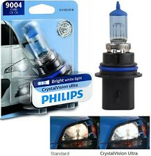 Philips Crystal Vision Ultra 9004 HB1 65/45W One Bulb Head Light High Low OE Fit