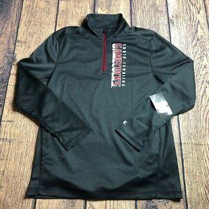 Champions Mens Medium South Carolina Gamecocks 1/4 Quarter Zip Jacket Pullover