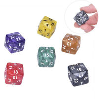 1pc 24 Face Dice For Game Polyhedral D24 Multi Sided Acrylic Dice Game BCDE