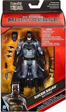"""DC MULTIVERSE Suicide Squad  BatMan 6"""" action figure BAF KILLER CROC MIP new!"""