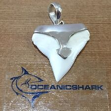 B42 27MM BULL SHARK TOOTH SILVER U WILL GET ITEM IN PHOTO! GAME OF THRONES GIFT