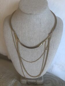 Stella And Dot Layering Collar And Bracelet