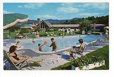 Alpine Motor Lodge Stowe Vermont, Vintage Postcard, Jun16