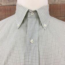 Brooks Brothers Men's Checks Cotton Button Down Shirt Size 15.5-3