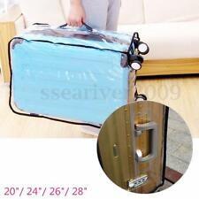 "20-28"" Waterproof Dustproof Transparent Protective Luggage Suitcase Cover Case"