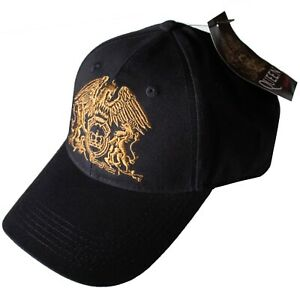 Queen - Crest Embroidered Logo Official Licensed Baseball Cap