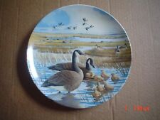 Dominion China Ltd Collectors Plate THE FAMILY Geese