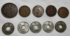 Palestine lot of 10 coins Mills