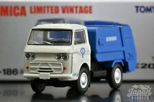 [TOMICA LIMITED VINTAGE LV-186a 1/64] MAZDA E2000 Garbage truck (White/Blue)