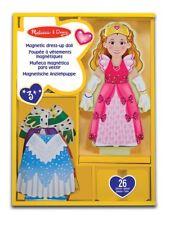 Melissa and Doug Princesse Elise magnétique en bois Dress-up Doll