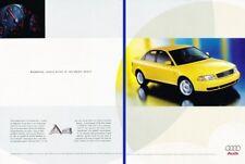 1998 1999 Audi A4 Original 2-page Advertisement Print Art Car Ad K12