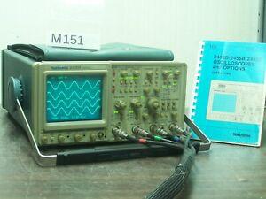 TEKTRONIX 2465B OSCILLOSCOPE 4x400MHz + Manual # M151