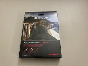 Audioquest Big Sur 3.5mm to RCA - 0.6m Analog Interconnect Audio Cable