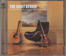 Quiet Storm Best In Electric Acoustic Rock Ballads 2CD Clapton Boston Scorpions